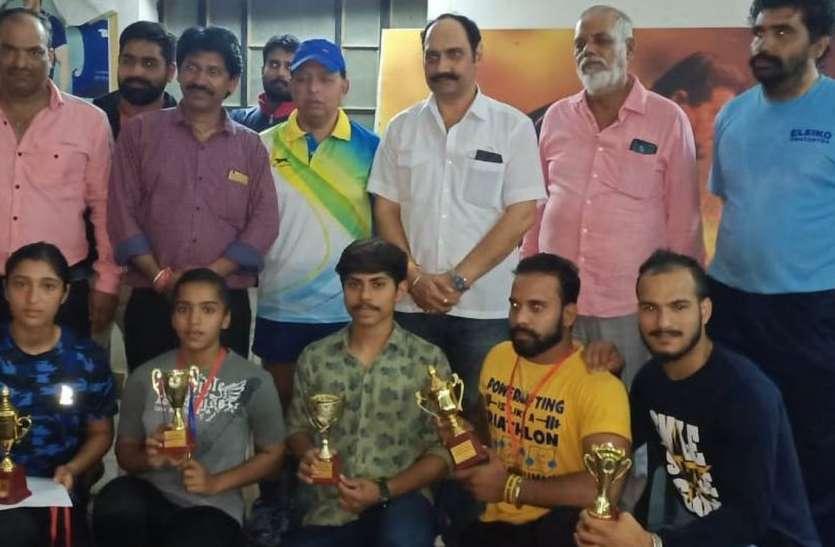 उदयपुर के गौरव ने जीता सब जूनियर स्ट्रोंग मैन का खिताब