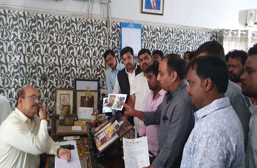 यूथ कांग्रेस ने BJP नेताओं पर लगाया लोलारक छठ पर  श्रद्धालुओं को एक्सपाइरी डेट का ग्लूकोज बांटने का आरोप