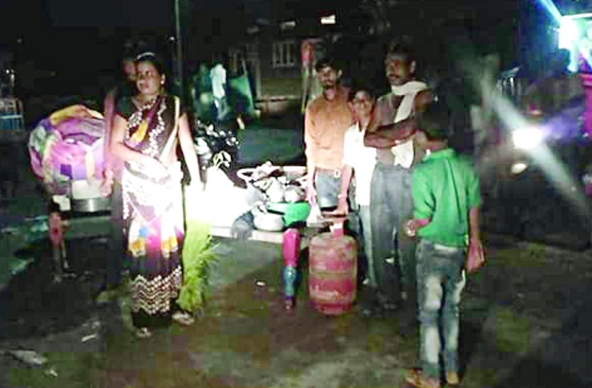 भारी बारिश के कारण घरों में भरा पानी, सात दिन का अलर्ट हुआ जारी