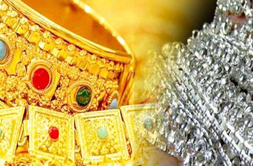 सोने-चांदी में जबरदस्त उछाल, 51 हजार पार हुई चांदी, सोना और चमका