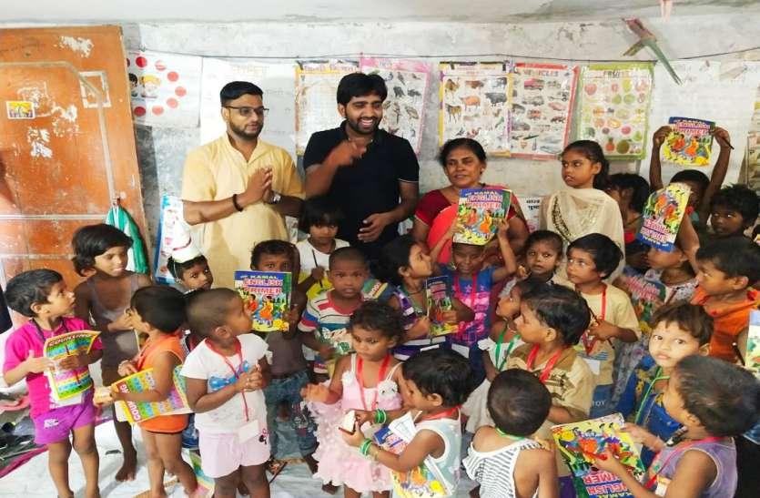 Teachers Day पर शिवदासपुर के बच्चों को बतायी शिक्षक की महिमा