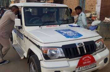 परिवहन विभाग ने की बाल वाहनियों की जांच