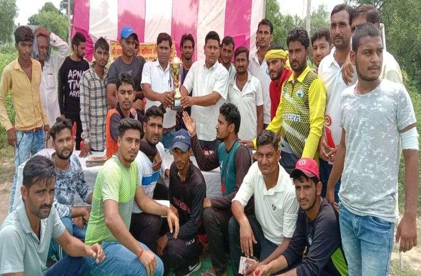 क्रिकेट में झुंझुनूं विजेता, बुहाना उप विजेता
