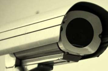 सड़कों पर नजर रखने के लिए लगाए गए सीसीटीवी कैमरे हुए खराब