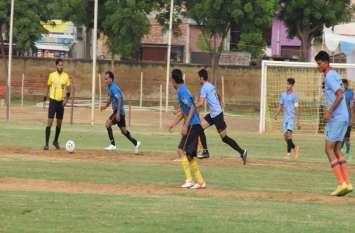 नवलगढ़ ने सवाई माधोपुर को 5-0 से हराया