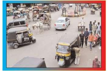 जुर्माना लगाने के बाद ट्रैफिक व्यवस्था में सुधार नहीं?
