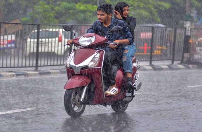 मौसम विभाग की चेतावनी के बाद जयपुर में अचानक पलटा मौसम, तेज हवाओं के साथ जोरदार बारिश