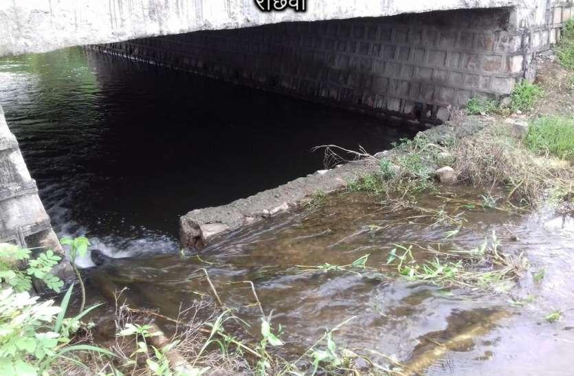 मुंह से निवाला छीन रहे समाजकंटक, तालाब के नाले की दीवार तोड़ी, व्यर्थ बह रहा पानी