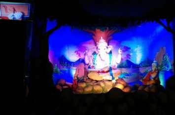 Ganeshotsav : इंतजार खत्म, लालबाग के बादशाह के होने लगे मनोहारी दर्शन, देखें वीडियो