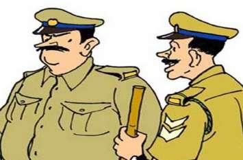 एसपी हुए सख्त,लापरवाही बरतने वाले पुलिसकमियों को दी ये सजा