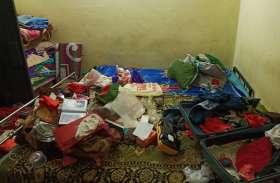 Chhindwara:छिंदवाड़ा के इस मकान में चोरों ने बोला धावा, देखें वीडियो