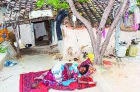 आदिवासी गांव के हर दूसरे घर में डायरिया के मरीज, स्वास्थ्य महकमा कह रहा सब सामान्य है