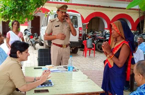 थाना समाधान दिवस में डीएम व एसपी ने सुनी समस्याएं