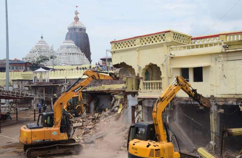 नागा साधुओं ने की थी जगन्नाथ मंदिर की रक्षा, उनका 617 साल पुराना मठढहाया