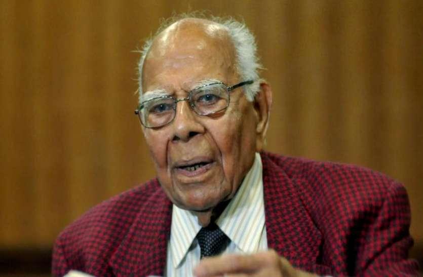 निधन के बाद अपने पीछे 59 करोड़ की संपत्ति छोड़ गए राम जेठमलानी, एक केस लड़ने की फीस थी 25 लाख रुपए
