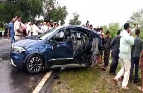 Breaking News : भीषण सड़क हादसे में 4 की मौत,मची चीख पुकार, देखें वीडियो