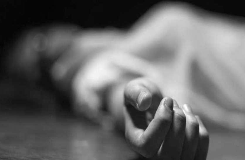 महिला की संदिग्ध हालत में हुई मौत, हत्या का जुर्म दर्ज कर जांच में जुटी पुलिस
