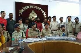 Chhindwara:छिंदवाड़ा बन रही अवैध हथियारों की मंडी, बड़ी तादाद में हथियार किए जब्त