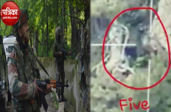 Video में देखें सेना का शौर्य, पाकिस्तानी आतंकियों और बैट कमांडो को यूं किया ढेर