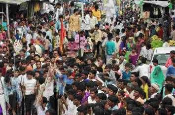 तेजा जयंती पर शोभायात्रामें उमड़ा श्रद्धा का सैलाब