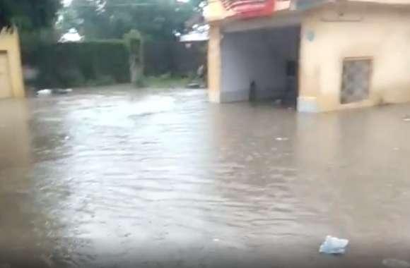 झालावाड़ में मूसलाधार बारिश से नदी नाले उफान पर, कालीसिंध बांध के 8 गेट खोले