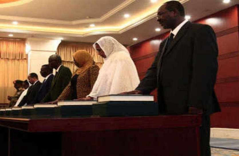 सुडान: उमर अल-बशीर को सत्ता से बेदखल करने के बाद नए मंत्रिमंडल का गठन, कैबिनेट में तीन महिलाएं शामिल