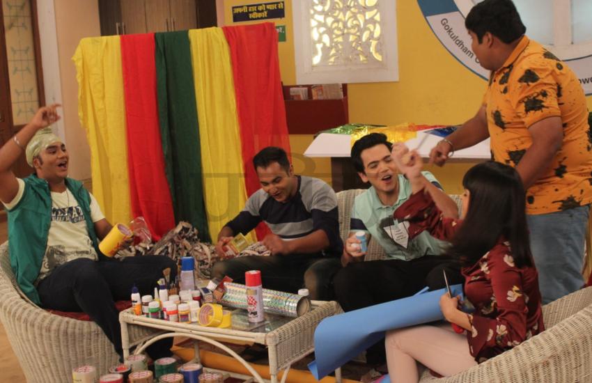 TMKOC: गणेशोत्सव के ठीक एक रात पहले पंडाल गिरने से गोकुलधाम सोसाइटी में भगदड़