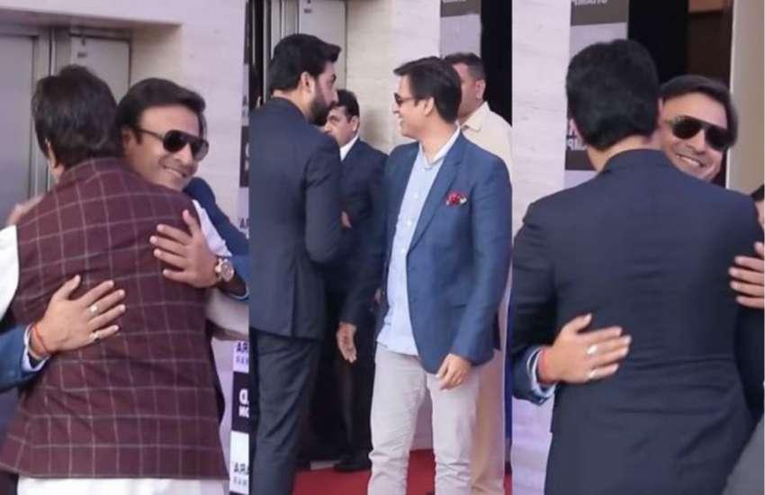 Abhishek Bachchan and Vivek Oberoi