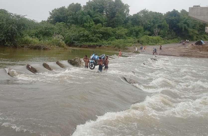 पूर्वी राजस्थान में भारी बारिश की चेतावनी, हाड़ौती में झमाझम के बाद उफनी नदियां, कई मार्ग बंद