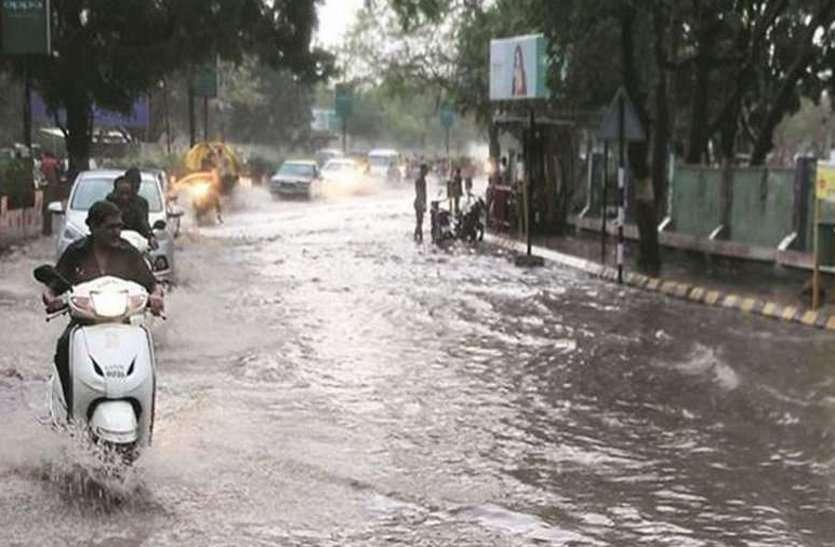 सुबह-शाम हुई झमाझम बारिश, आंकड़ा 660 मिमी के पार