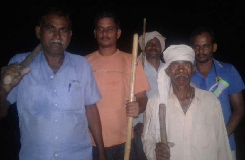 पुलिस की नाकामी : ग्रामीणों ने खुद शुरू की रात्रि गश्त