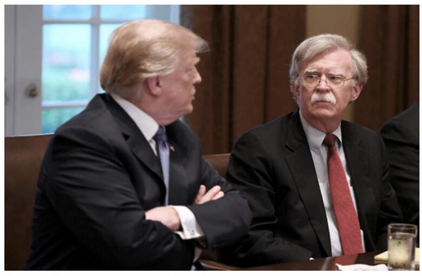 अमरीका: राष्ट्रीय सुरक्षा सलाहकार जॉन बोल्टन को राष्ट्रपति ट्रंप ने किया बर्खास्त, ट्वीट कर बताई वजह