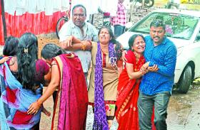 इंदौर-भोपाल सड़क हादसा: बेटियों के सिर से उठा पिता का साया, तीन साल की बेटी छोड़ गई तनिष्का
