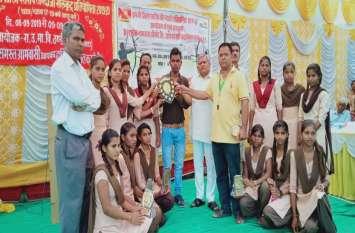 तीरंदाजी इण्डियन राउण्ड छात्र में भूला विजेता व वालोरिया रहा उप विजेता