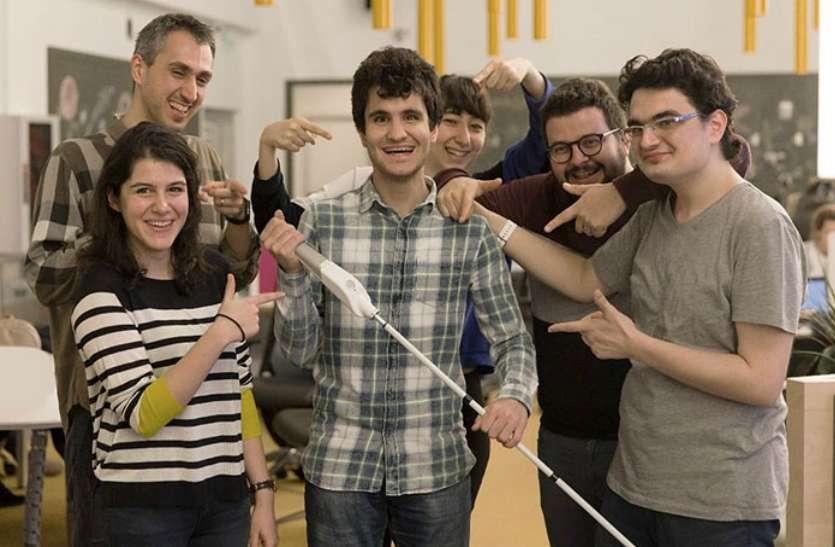 ब्लाइंड इंजीनियर ने बनाई स्मार्ट छड़ी, नेत्रहीन लोगों के लिए करेगी आंख का काम