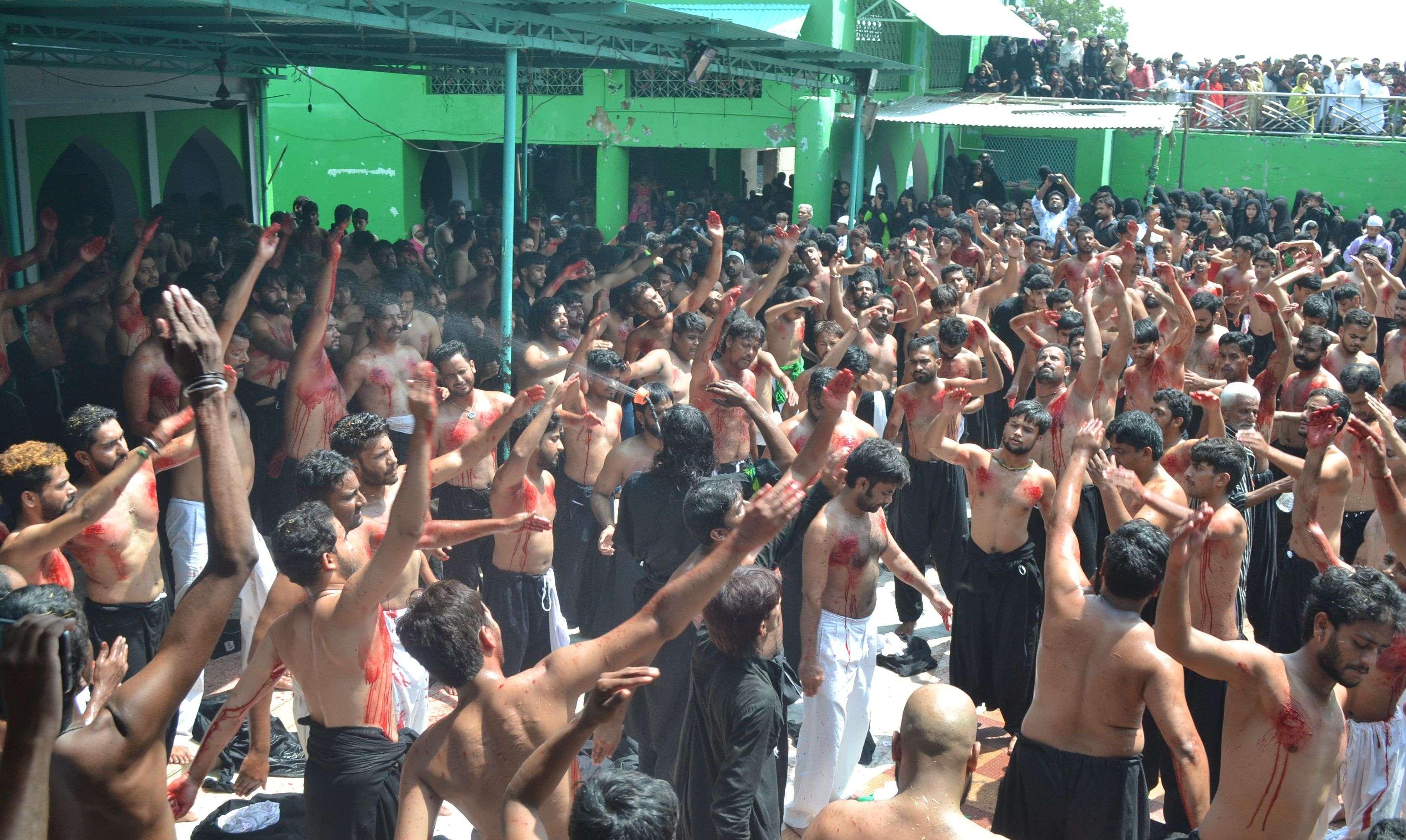Moharram 2019 : traditional ceremony in ajmer