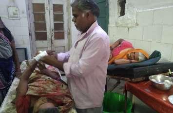 मॉनसून का कहर : घर गिरने से तीन महिलाएं घायल