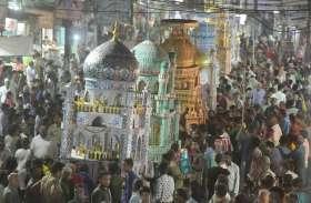 ताजिये सुपुर्द ए खाक, जुलूस में दिखा साम्प्रदायिक सौहार्द