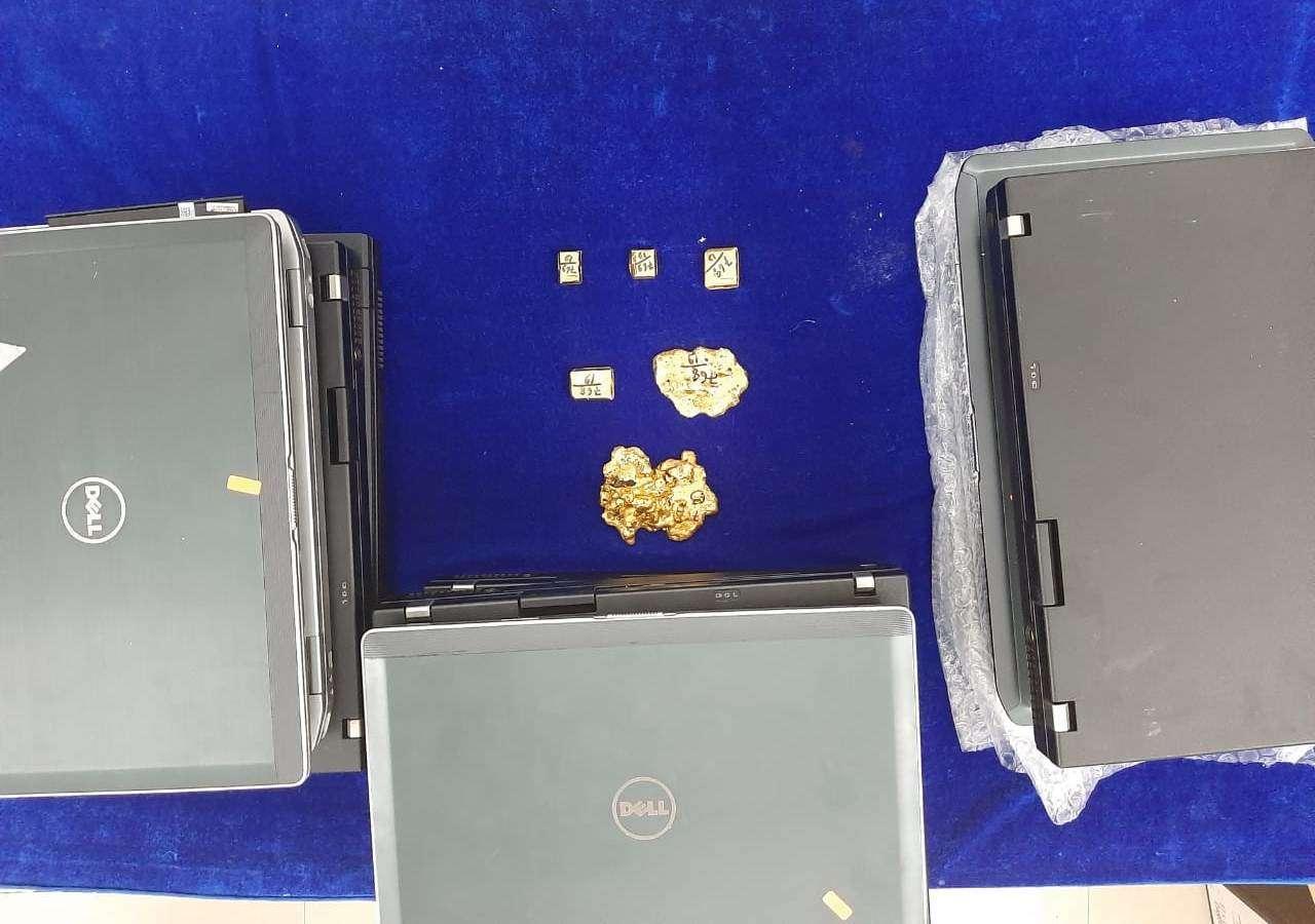 Gold seized at Chenai Airport: Chennai Airport, Gold Smuggling, Custom