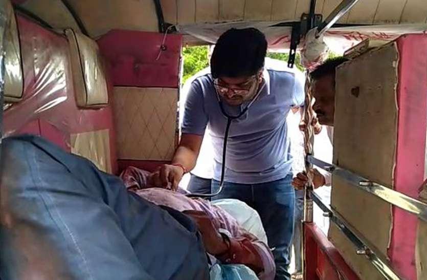 VIDEO: मुख्यमंत्री के आने से पहले खून से लाल हुई सुहागनगरी, बदमाशों ने फाइनेंस कर्मचारी को सरे राह मारी गोली