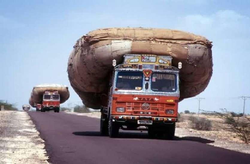 ट्रैफिक पुलिस ने काटा अब तक का सबसे बड़ा चालान! ट्रक ड्राइवर को लगी 1.41 लाख की चपत