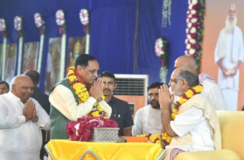 Ahmedabad News : संतों से बना गुजरात आध्यात्मिक राज्य : मुख्यमंत्री