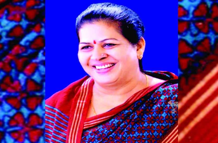 भीलवाड़ा नगर परिषद की सभापति ने थाम लिया कांग्रेस का हाथ