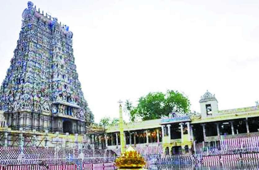 मीनाक्षी मंदिर प्रतिष्ठित स्वच्छ स्थलों में दूसरे स्थान पर
