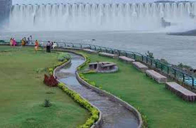 Sardarsarovar Dam: नर्मदा बांध का जलस्तर बढऩे से चार नदियों में छोड़ा पानी