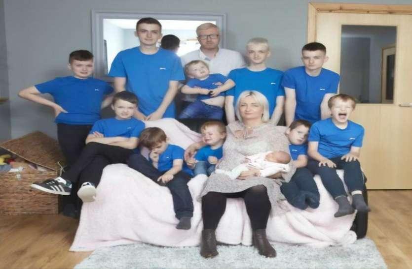 महिला ने तोड़ा रिकार्ड:39 साल की महिला ने पैदा किये 10 लड़के, फिर हुई प्रेग्नेंट