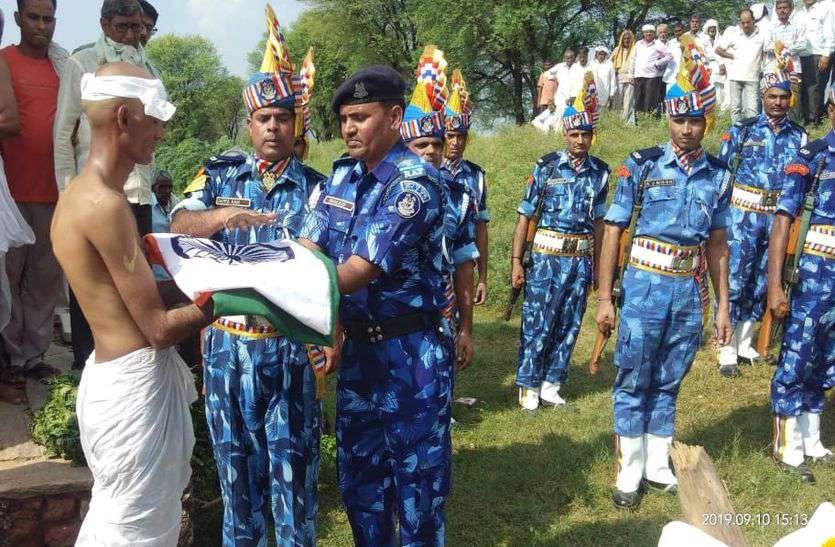 CRPF जवान राम सिंह की ड्यूटी के दौरान हार्ट अटैक से मौत, पैतृक गांव में हुआ अंतिम संस्कार