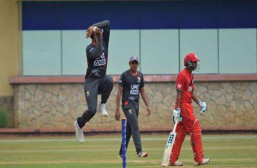 ऋषभ मुखर्जी ने अमीरात को पहुंचाया क्रिकेट विश्व कप में, भारत के लिए खेलना है सपना