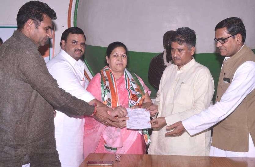 भीलवाड़ा नगर परिषद् सभापति Lalita Samdani कांग्रेस में शामिल, जाने BJP छोड़ क्यों थामा 'हाथ'