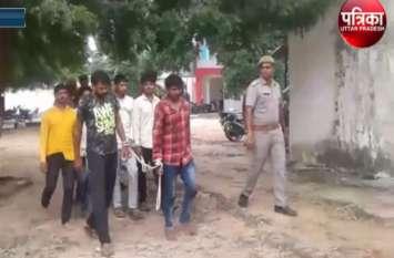 पुलिस मुठभेड़ में छह बिजली चोर गिरफ्तार, 4 अवैध तमंचे भी बरामद